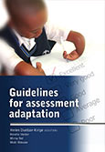 Guidelines for assessment adaptation