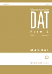 Differential Aptitude Tests Form L (DAT-L) – Norms for Namibia (2013)