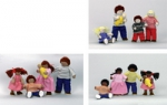 Pose and Play Doll Families