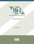 Trauma Symptom Inventory™-2 (TSI™-2)